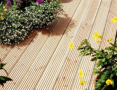bodenholz sibirische l rche terrassendielen 1 lfm ebay. Black Bedroom Furniture Sets. Home Design Ideas