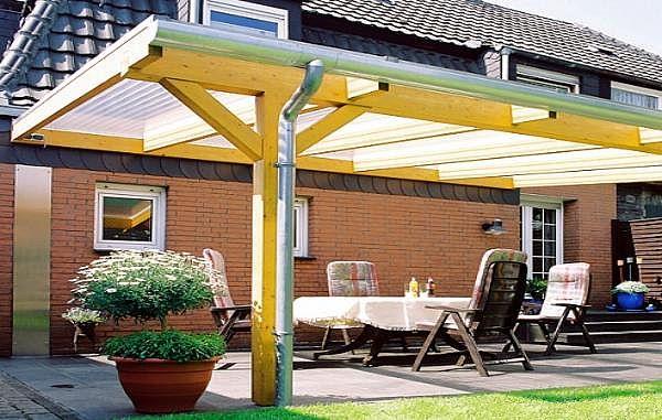 terrassen berdachung bausatz 6x3m stegplatten und profile f r unterkonstruktion ebay. Black Bedroom Furniture Sets. Home Design Ideas