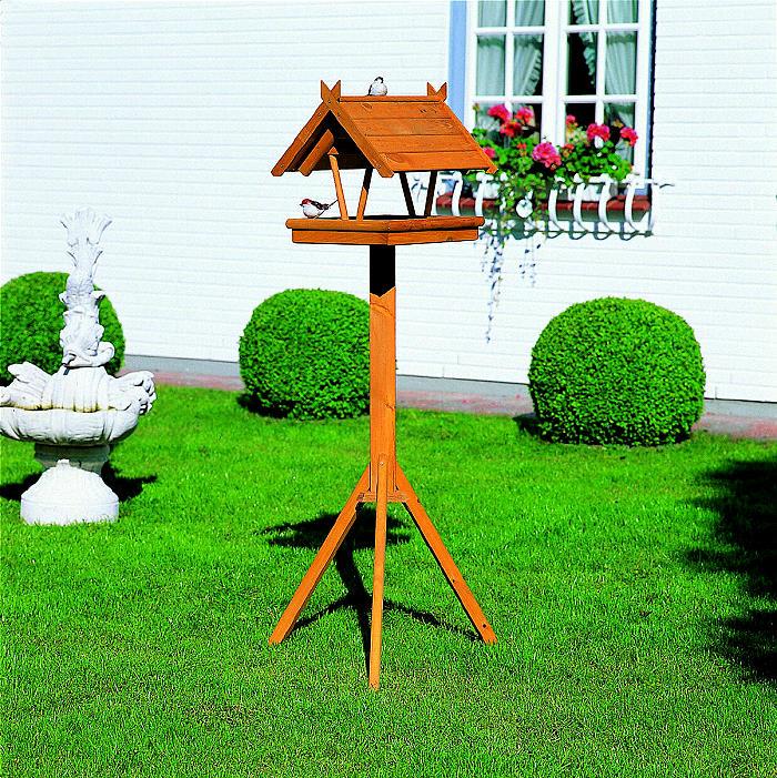 vogelhaus rh n mit standfu h he 144 cm futterhaus 510010 ebay. Black Bedroom Furniture Sets. Home Design Ideas