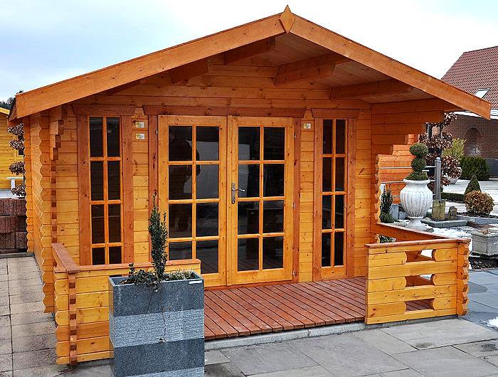 Blockhaus München gartenhaus münchen blockhaus 500x450cm 150cm veranda 4260321821166