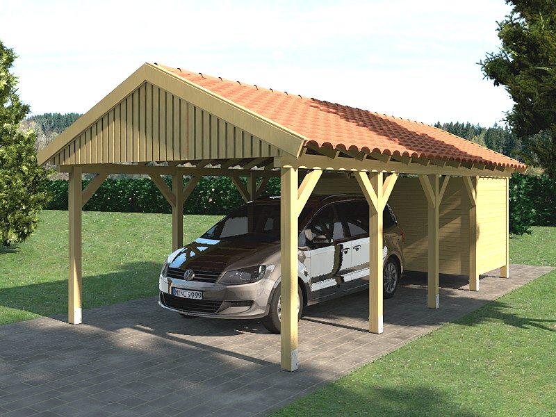 carport satteldach zandvoort 350x800cm ger teraum. Black Bedroom Furniture Sets. Home Design Ideas