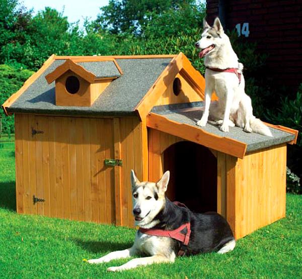 hundeh tte max inkl anbau isoliert wetterfest hundehaus. Black Bedroom Furniture Sets. Home Design Ideas