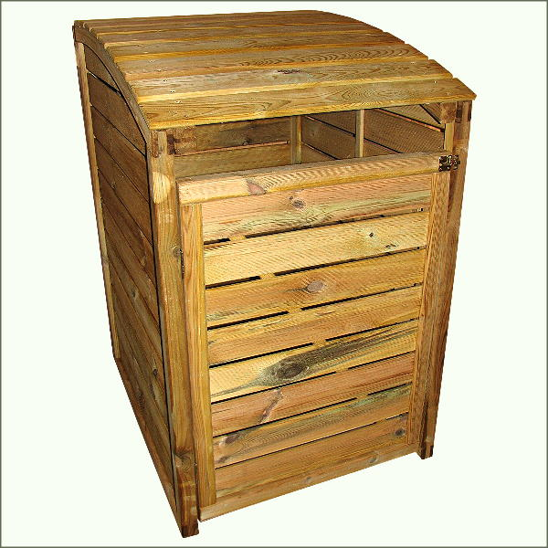m lltonnenbox vario iv m llbox 80x95x120cm verkleidung f r. Black Bedroom Furniture Sets. Home Design Ideas