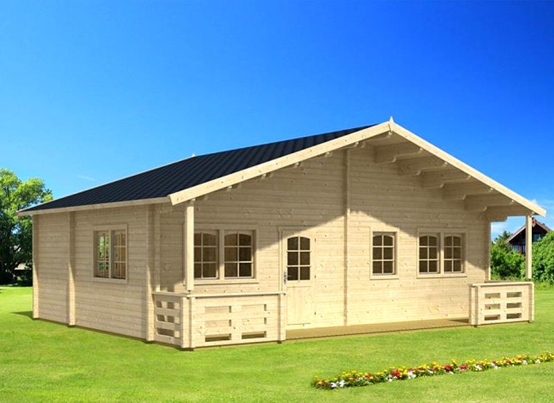 gartenhaus motril ferienhaus blockhaus holzhaus 870 x 595 cm 70 mm kaufen bei. Black Bedroom Furniture Sets. Home Design Ideas