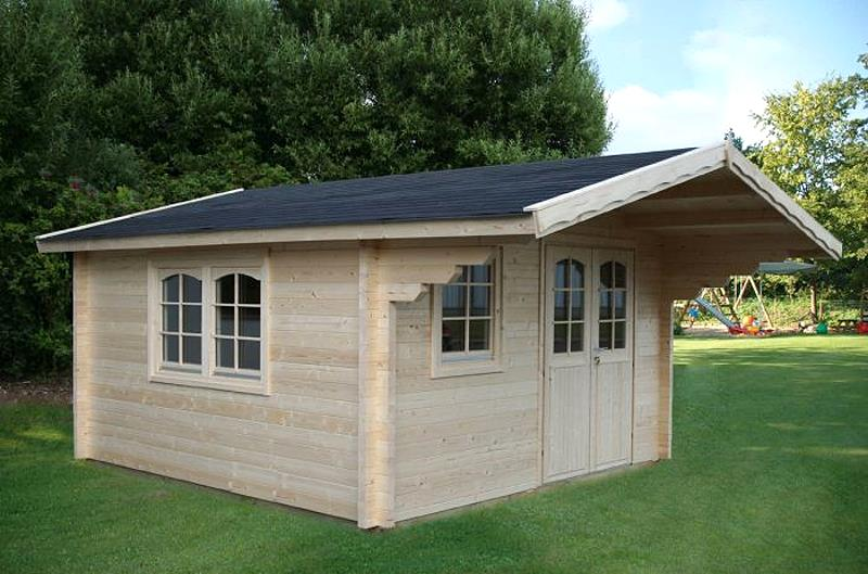 gartenhaus malaga 70 b ferienhaus blockhaus holzhaus 380 x 380 cm 70 mm kaufen bei. Black Bedroom Furniture Sets. Home Design Ideas