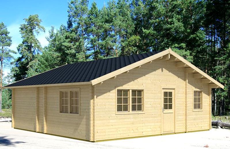 gartenhaus tipo ferienhaus blockhaus holzhaus 740 x 740 cm. Black Bedroom Furniture Sets. Home Design Ideas