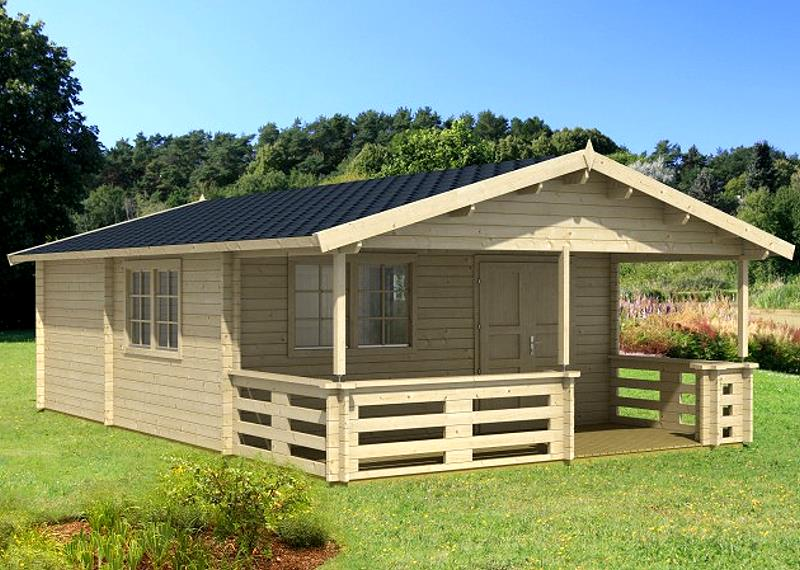 gartenhaus tormes ferienhaus blockhaus holzhaus 530 x 790 cm 70 mm ebay. Black Bedroom Furniture Sets. Home Design Ideas