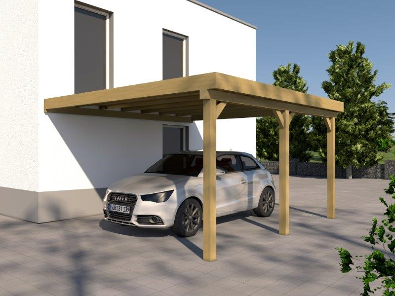 anlehncarport carport eifel v 400x500cm bausatz anbaucarport dacheindeckung ebay. Black Bedroom Furniture Sets. Home Design Ideas