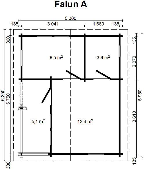 gartenhaus falun a 70 blockhaus 595 x 500 cm holzhaus 70 mm holz neu kaufen bei. Black Bedroom Furniture Sets. Home Design Ideas