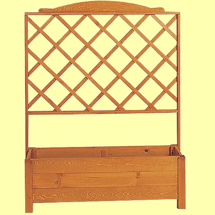 rankkasten botanica ii mit pergola 110 x 32 x 140 cm holz. Black Bedroom Furniture Sets. Home Design Ideas